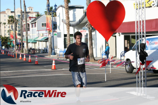 Oceanside Valentine's Day 5K Finish Race Wire
