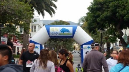 Run Catalina 10k start